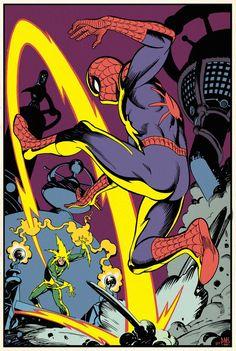 Paul Martin, Martin Smith, Comic Books Art, Comic Art, Book Art, Nyc At Night, Geof Darrow, Phil Noto, Jeff Jones
