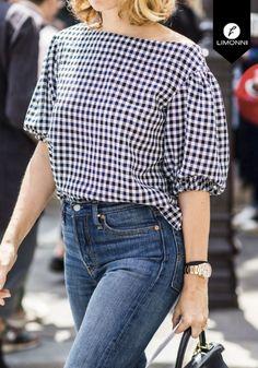 Style Matters, Carolina Herrera, Fashion Outfits, Womens Fashion, Ruffle Blouse, Woman Style, Denim, My Style, Clothes