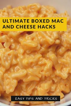 Mac And Cheese Box Recipe, Boxed Mac And Cheese, Macaroni And Cheese, Lunch Ideas, Meal Ideas, Dinner Ideas, Best Comfort Food, Comfort Foods, Pasta Recipes
