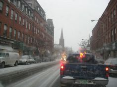 "Just came across this little treasure trove of Christmas photos of our lovely downtown! Most excellent!! From 'Loise on the Left': ""As we drove through town the other day I started taking photos to share with those few people out there who spent their childhoods here near Brattleboro, Vt.    So much is still the same, yet it has evolved so much since we moved there in 1968.    It sure wasn't the ""Little San Francisco"" it is, back then.  It's interesting to remember this."""