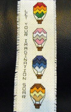 Air Balloon Bookmark