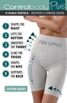 Control Body High Waist Girdle ? Firm Support
