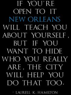 Laurell K Hamilton New Orleans quote digital art print on Etsy, $60.00