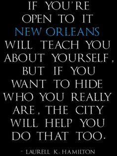 Laurell K Hamilton New Orleans quote digital art by calmtouching, $60.00