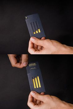 The 40 best business cards of the 2012. This business card is like a magic trick in that I have no idea what is going on! I love the creativity, the professionalism, and the style.