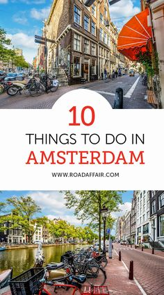 """""""The Ultimate Travel Guide to the Best Things to Do in Amsterdam, Netherlands."""" Amsterdam is a wonderful city that needs to be seen and visited. The city resembles a true european capital that has everything you need. Europe Travel Tips, European Travel, Travel Guides, Travel Destinations, Overseas Travel, Travel Deals, Travel Hacks, Budget Travel, Tour En Amsterdam"""