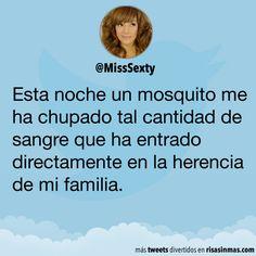 Un mosquito de mi familia