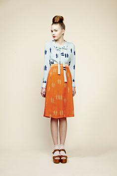 orange, blue!  Charlotte Taylor.