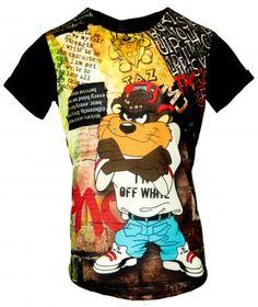 ΑΝΔΡΙΚΗ ΜΠΛΟΥΖΑ ΜΕ ΣΤΑΜΠΑ | Ανδρική μπλούζα με στάμπα και μαύρη πλάτη. Digital print all over Cotton: 100% | Χρώμα: Εμπριμέ | Μέγεθος: XXL , XL , L , M |