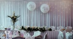 Aoife and Jonathan chose to emphasise their top table at the Brehon Hotel by having an Fairy Light Backdrop and Mr. Wedding Wishes, Our Wedding, Wedding Venues, Civil Ceremony, Wedding Balloons, Industrial Wedding, Fairy Lights, Getting Married, Backdrops