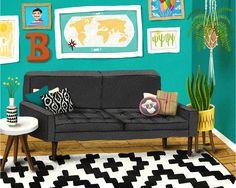 Mod Illustration Procreate Brushes by LisaBardot on @creativemarket