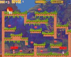 Zagraj Dorą oraz jej fikuśnym przyjacielem w ciekawą platformówkę! Twoim zadaniem będzie zebranie wszystkich serduszek.  http://www.ubieranki.eu/gry/3918/dora-i-serduszka.html