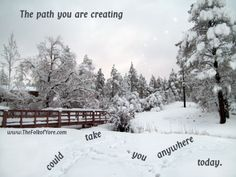 The path you are creating could take you anywhere today. www.TheFolkofYore.com