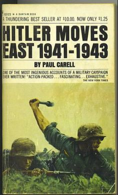 WW2.Paints a good pic of the massive scale of the eastern front. The overall situation is well outlined and includes excerpts from officers diary's.It also gives account of army, core, division, regiment, and smaller units movements as well as some stories of individual bravery in battle.The book is mainly from the German point of interest but details of Russian troops and officers are mentioned.