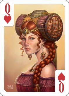Queen of Hearts by d-torres.deviantart.com on @deviantART