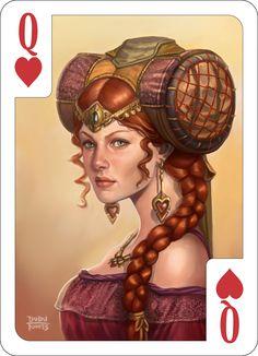 Queen of Hearts by d-torres.deviantart.com on @deviantART