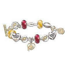 Redskins bracelet