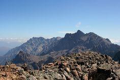 Massif du Monte Cintu (Monte Cinto) - Vue du Monte Cinto depuis la Punta Minuta.