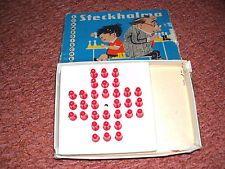 DDR Solo Halma Steckhalma,DDR Spielzeug,Schwedisches Steckhalma