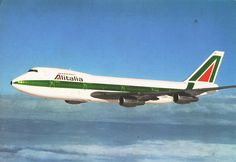 Alitalia Boeing 747-200 I-DEMC by temp13rec., via Flickr