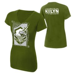 "Kaitlyn ""8th Militia"" Women's V-Neck Authentic T-Shirt"