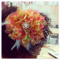 Student Chelsea from Houston, TX: creates the {CAMRYN} Fabric flower fascinator Joanns Fabric And Crafts, Houston Tx, Something Beautiful, Fabric Flowers, Fascinator, Brides, Chelsea, Student, Create