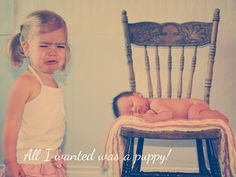 2nd Baby Birth Announcement - HAH, this would so be Lillie