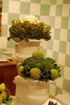 Vegetable arrangement
