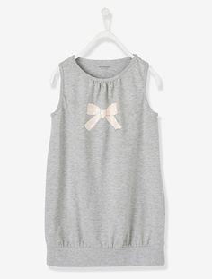 808f9395fa Maille jersey et volume ample pour cette robe sans manches confortable et  ultra-tendance !