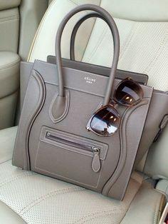 79c55fae72  Celine Micro Handbag in Souris  GucciGlasses Celine Luggage