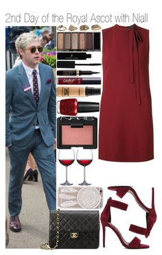 """""""#2nd Day of the Royal Ascot with Niall"""" by didi-horan ❤ liked on Polyvore featuring Theory, Nicholas, tarte, Made of Me, Chanel, Vincent Longo, MAC Cosmetics, OPI, NARS Cosmetics and Home Essentials"""