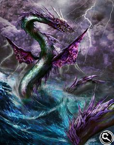 View an image titled 'Leviathan Art' in our Mobius Final Fantasy art gallery featuring official character designs, concept art, and promo pictures. Fantasy Weapons, Fantasy Rpg, Epic Art, Amazing Art, Fantasy Creatures, Mythical Creatures, Aliens, Mobius Final Fantasy, Dragon Time