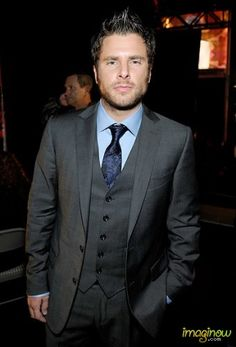 James Roday (plays Shawn Spencer in Psych). My goodness never noticed how good looking he was