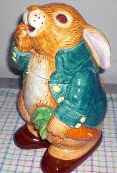Peter Rabbit Cookie jar