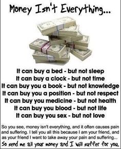 See more Quotes about Money Isn't Everything....