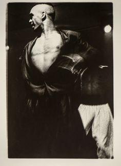 Jabiru Dancers XVIII by Roz 'Spiri' Laurie. Visit www.visualemporium.com.au to see more of Roz's photography. #photography #blackandwhitephotograph #islanddance #indigenousdance #expressiobn #islander #aboriginal #movement #creative #beautiful #flow