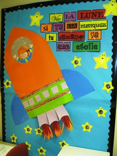 Classe de madame Bernice: décembre 2011 French Bulletin Boards, Welcome Bulletin Boards, Back To School Bulletin Boards, Classroom Displays, Classroom Organization, Classroom Decor, French Teacher, Teaching French, Primary Teaching