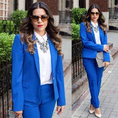Zara cobalt blazer Blazer in excellent condition. Only worn a few times. Fits true to size. Zara Jackets & Coats Blazers