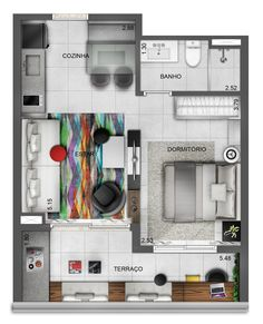 Neorama - Floor Plan - Setin/Raposo Tavares