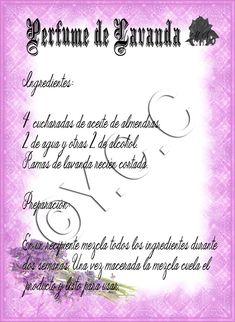 Trastos de Bruja: Perfume de Lavanda