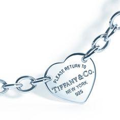 A New York memento for worldly travels: a Return to Tiffany® heart tag bracelet in sterling silver. #TiffanyPinterest #bracelet #silverjewelry