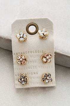 Secret Garden Bejeweled Studs