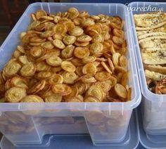 Slané krekry (fotorecept) - Recept Crackers, Ham, Shrimp, Almond, Food And Drink, Pizza, Menu, Bread, Snacks