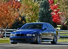 BMW E39 M5, Le Mans Blue