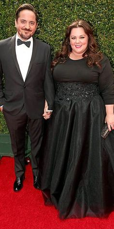 Emmy Awards 2014: Arrivals : Ben Falcone & Melissa McCarthy