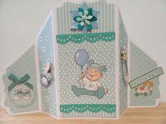 babykaart jongen door Sylvia H.