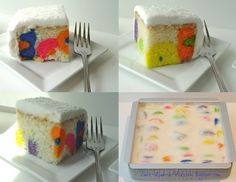 Once Upon a Pedestal: Twice Baked Cake or More Hidden Polka Dots