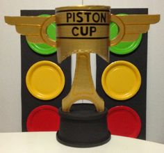 Stick This: DIY Disney CARS Piston Cup                              …