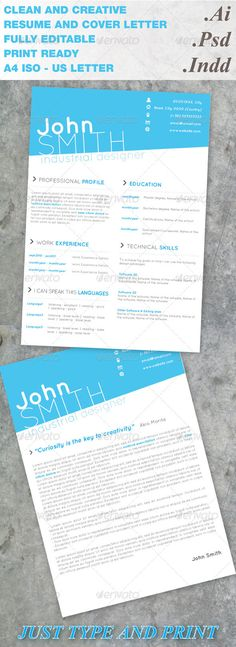 16 best Modern Resumes images on Pinterest | Cv template, Resume cv ...
