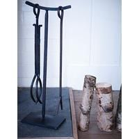 Wrought Iron Fireside Two Piece Set  | Cox and Cox
